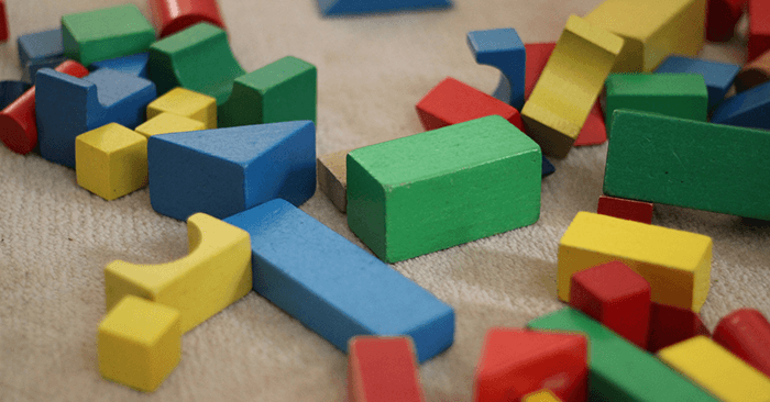 Building Blocks Play Activity for Children and Toddlers